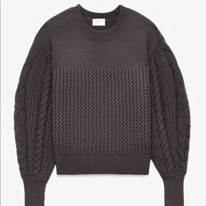 Aritzia | ESMEE Cable Knit Merino Wool Sweater